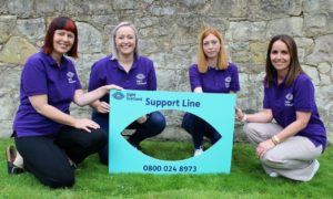Sight Scotland has launched a national helpline amid concerns people aren't receiving the information and support they need.