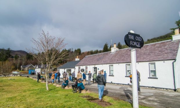 The Old Forge Inn Community Benefit Society has hit their target
