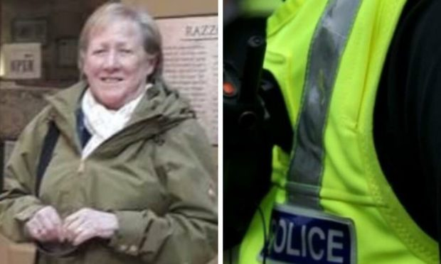 Valerie MacKinnon, aged 73 from Sleat in the Isle of Skye, a passenger in the Skoda Rapid, was seriously injured in the crash. Photo: Police Scotland.