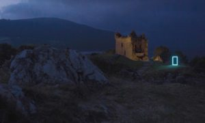Urquhart Castle will be one iconic Scottish location set to wow in the short film. Supplied by HES.