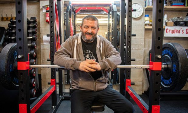 Gordon Cruden is taking on the Being Strong challenge to highlight the plight of those suffering from mental health issues and suicidal thoughts. Photo: Wullie Marr/DCT Media