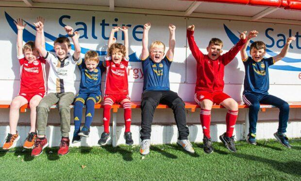 Aberdeen's new AberDNA Junior signings.