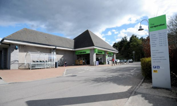 The Co-op in Alford. Photo by Chris Sumner/DCT Media