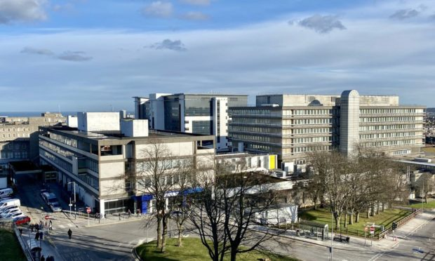 Aberdeen Royal Infirmary. Picture by Kami Thomson