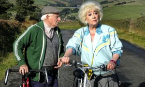 Robert Fyfe as Howard and Jean Fergusson as Marina and in Last of the Summer Wine.