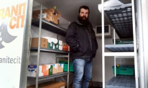 Evan Adamson, from Instant Neighbour foodbank, is concerned about the impending cut to Universal Credit.
