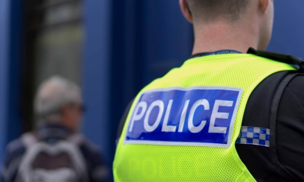 Police are currently in attendance on the A96 Inverness to Aberdeen trunk road following a two-vehicle crash.
