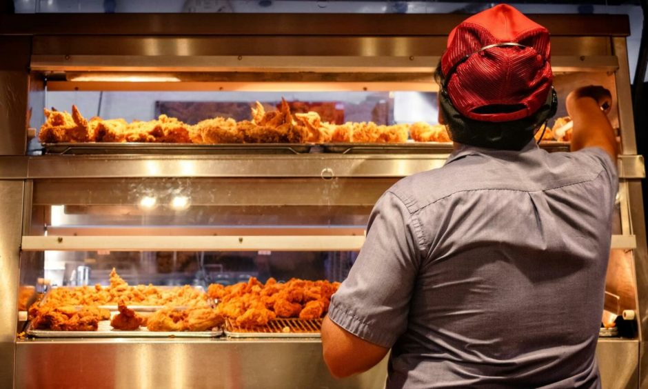 The number of people consuming takeaway and food on-the-go has increased.