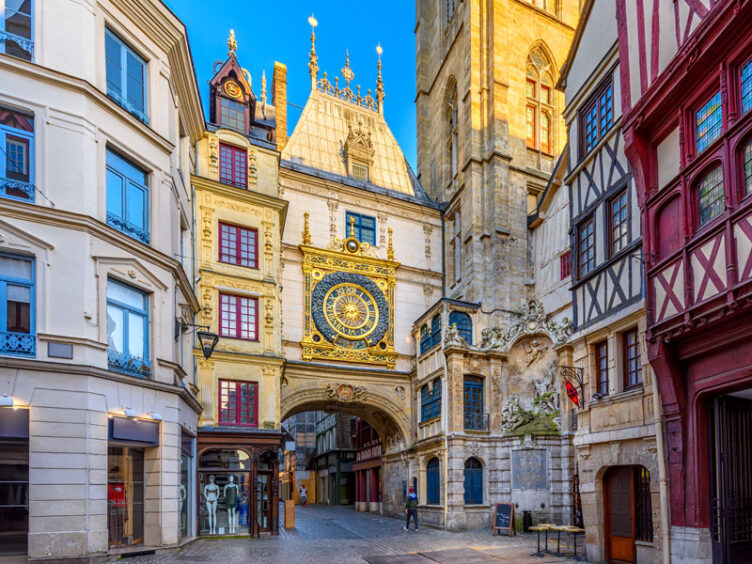 Rouen, capital of Normandy, France