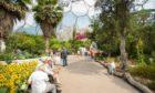 The impressive Eden Project.