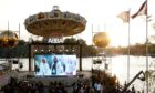 The ABBA Voyage event at Grona Lund amusement park in Sweden (Photo: IBL/Shutterstock)