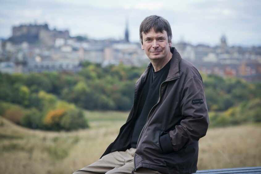 Bestselling crime author Ian Rankin developed the murder plot for the show. Picture from Shutterstock