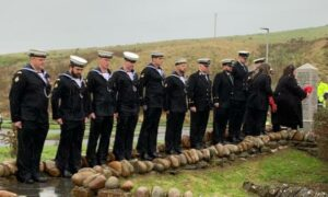 Tributes have been paid to the 835 soldiers who died aboard the HMS Royal Oak.