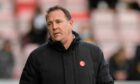 Malky Mackay during Ross County's 3-2 defeat to Livingston.
