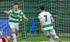 Marcus Goodall, left, is relishing Buckie's Scottish Cup tie against Kelty Hearts