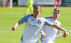 Turriff United player-assistant manager Jamie Lennox, left, hopes they can defeat Fort William