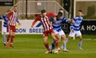 Formartine lost 4-1 to Banks o' Dee in the Evening Express Aberdeenshire Cup final