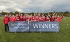 The victorious Kinlochshiel team.