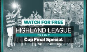 This week's Highland League Weekly is available to watch for free,