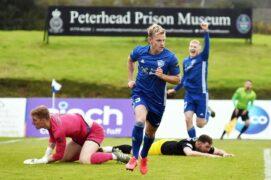 Peterhead defender Jason Brown pleased with Blue Toon's defensive improvements