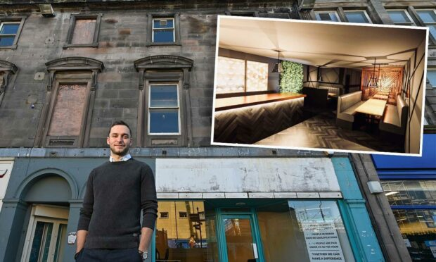 Building on 132 High Street in Elgin could be transformed into cocktail bar and restaurant.