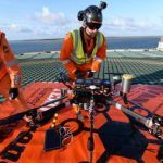 Drone specialist Texo carries out first combined system scan of offshore jack-up