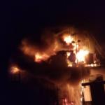Video: One missing, seven injured after oil platform explosion
