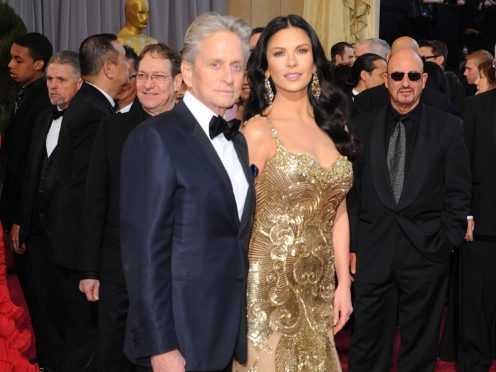 Michael Douglas has said acting roles become 'much more difficult' for older women as he praised his wife Catherine Zeta-Jones' business ventures (Ian West/PA)