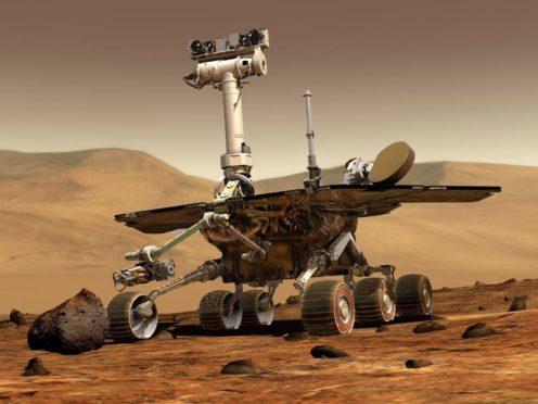 NASA's Mars rover Opportunity (NASA/PA)