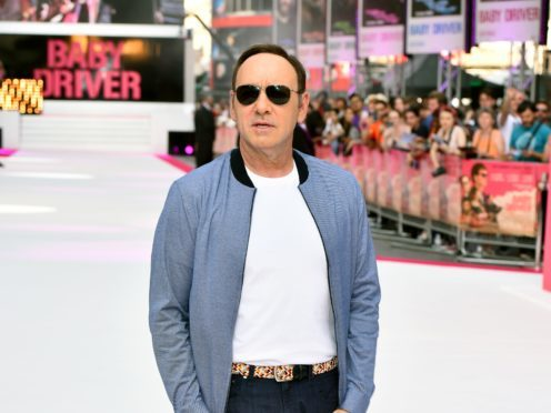 Kevin Spacey at a premiere (Matt Crossick/PA)