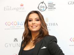 Eva Longoria has welcomed her first son with husband Jose Baston (Isabel Infantes/PA)