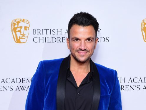 Peter Andre admitted that not all his past offerings were up to scratch (Ian West/PA)