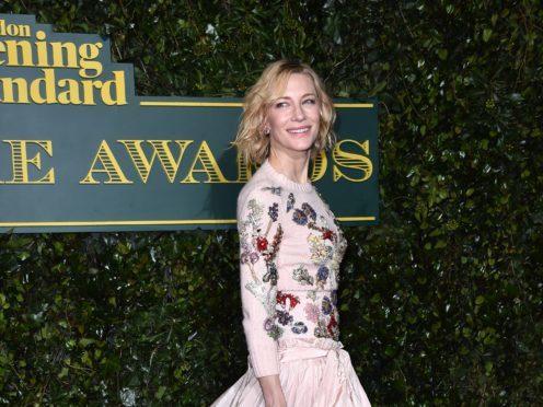 Cate Blanchett (Matt Crossick/PA)
