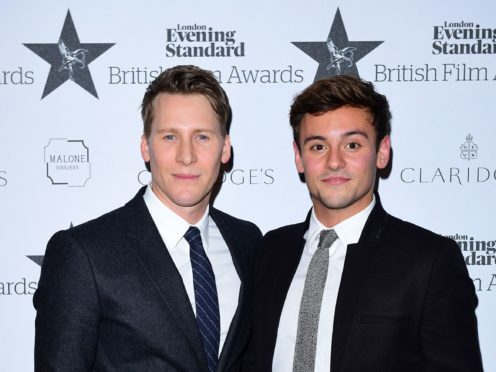 Tom Daley and husband Justin Lance Black have welcomed a son (Ian West/PA)