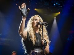 Carrie Underwood will headline the inaugural country festival in the UK (David Jensen/PA)
