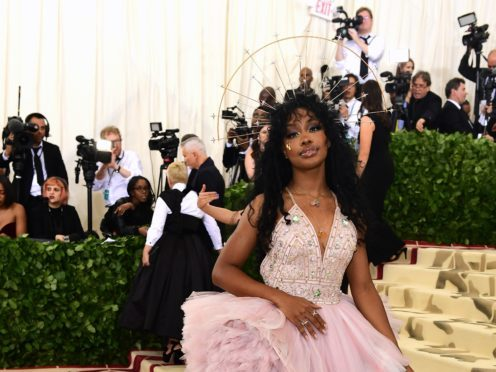 SZA said she has not suffered permanent damage from a vocal injury (Ian West/PA)