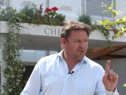 TV chef James Martin has spoken about keeping his private life out of the public eye (Jonathan Brady/PA)