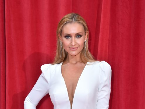 Catherine Tyldesley is leaving Corrie after seven years (PA)