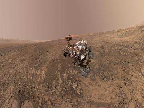 The Curiosity rover has fallen silent (AP)