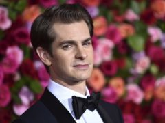 Andrew Garfield arrives at the 72nd annual Tony Awards (Evan Agostini/Invision/AP)