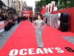 Helena Bonham Carter attending the European premiere of Oceans 8 (Ian West/PA)