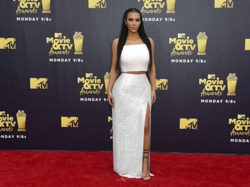 Kim Kardashian West has defended her braids (Jordan Strauss/Invision/AP)