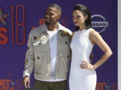Jamie Foxx and his daughter Corinne Foxx arrive at the BET Awards at the Microsoft Theater in Los Angeles (Willy Sanjuan/Invision/AP)