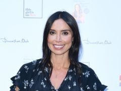 Christine Lampard has opened up on her pregnancy as she prepares to give birth for the first time (Ian West/PA)