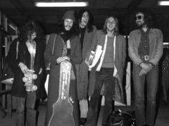 Rock band Fleetwood Mac at London Airport (PA)