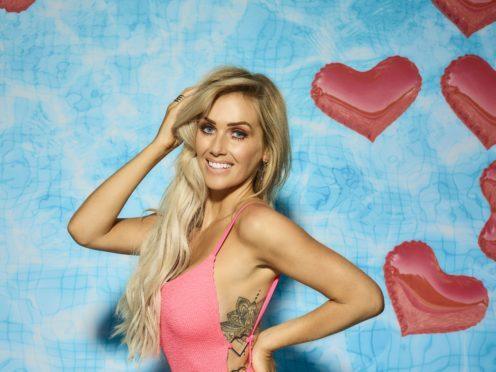 Laura Anderson on Love Island (ITV)