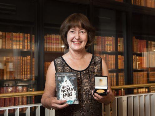 CILIP Carnegie winner Geraldine McCaughrean (British Library/Katariina Jarvinen)