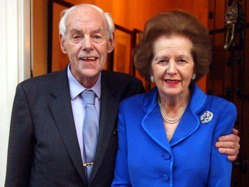 Margaret Thatcher's husband Denis queried Sir Paul McCartney's inclusion on the list (John Stillwell/ PA)