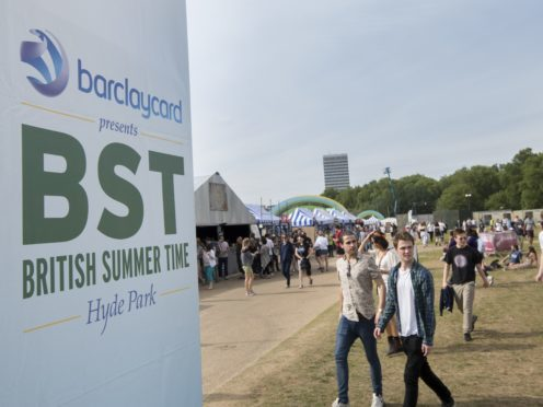 The Barclaycard-sponsored event will take place over two weekends starting on Friday (Matt Crossick/PA)