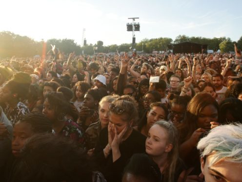 BST festival won't pause music sets for England game – but Wireless will (Yui Mok/PA)